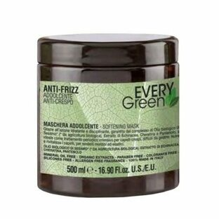 Dikson EVERYGREEN ANTI-FRIZZ MASHERA IDRATANTE Маска для вьющихся волос 500ml